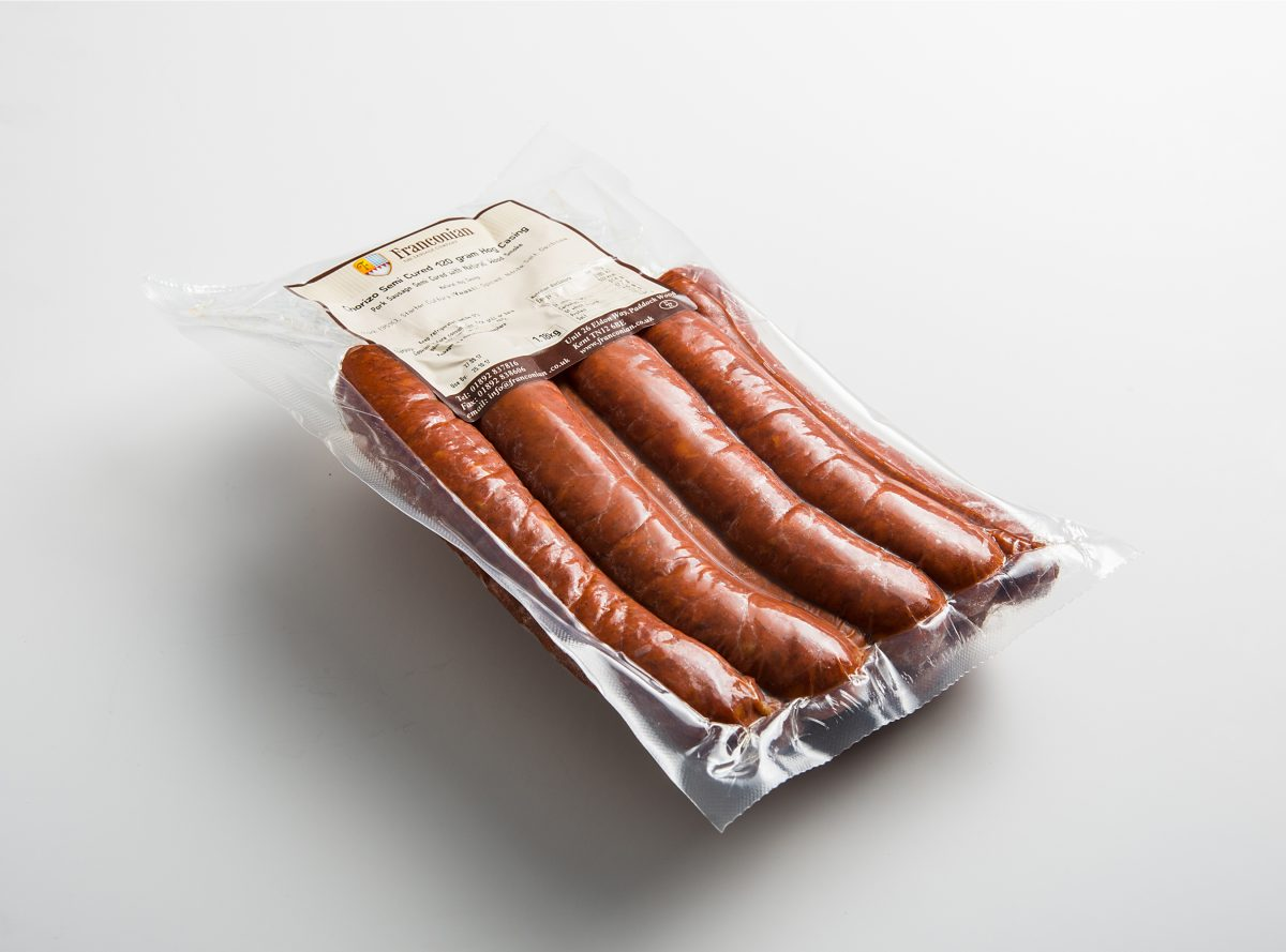 semi cured chorizo 120g 10 pack