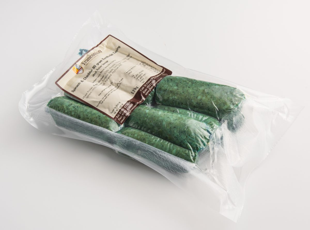 spinach cheddar 80g packaging
